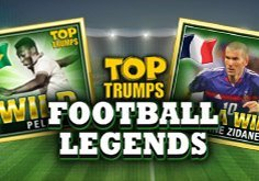 Top Trumps Football Legends Pokie Logo
