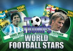 Top Trumps World Football Stars Pokie Logo