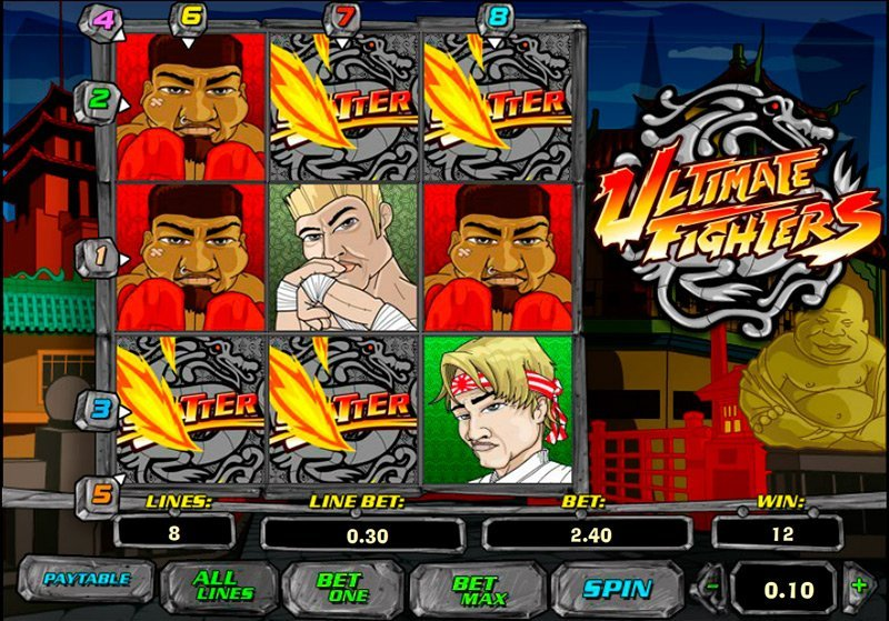 Ultimate Fighters Pokie