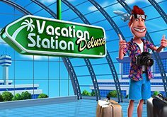 Vacation Station Deluxe Pokie Logo