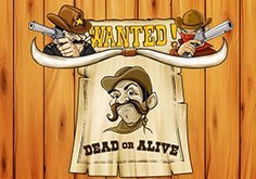Wanted Dead Or Alive Pokie Logo
