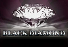 Black Diamond 1 Line Pokie Logo