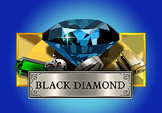 Black Diamond Pokie Logo