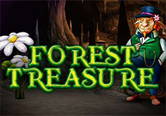 Forest Treasure Pokie Logo