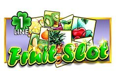 Fruit Slot 1 Line Pokie Logo