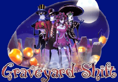 Graveyard Shift Pokie Logo