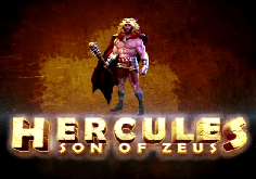 Hercules Son Of Zeus Pokie Logo