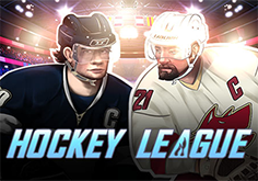 Hockey League Pokie Logo