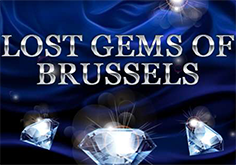 Lost Gems Of Brussels Pokie Logo