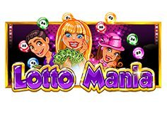 Lotto Mania Pokie Logo