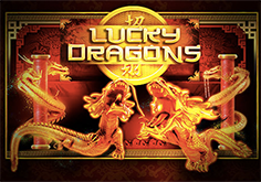 Lucky Dragons Pokie Logo