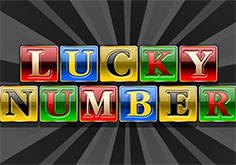 Lucky Number Pokie Logo