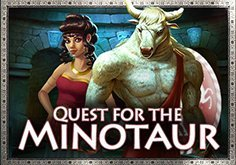 Quest For The Minotaur Pokie Logo