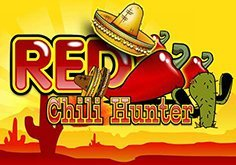 Red Chili Hunter 5 Lines Pokie Logo