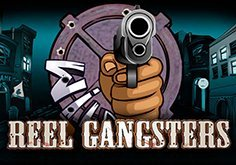 Reel Gangsters Pokie Logo