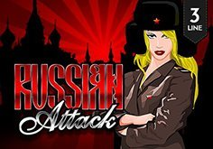 Russian Attack 3 Lines Pokie Logo