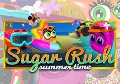 Sugar Rush Summer Time Pokie Logo