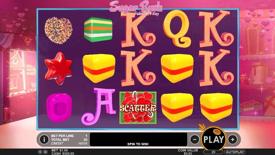 Spiele Sugar Rush Valentine'S Day - Video Slots Online