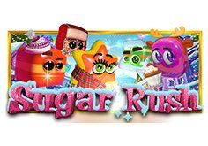 Sugar Rush Winter Pokie Logo