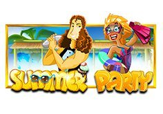Summer Party Pokie Logo