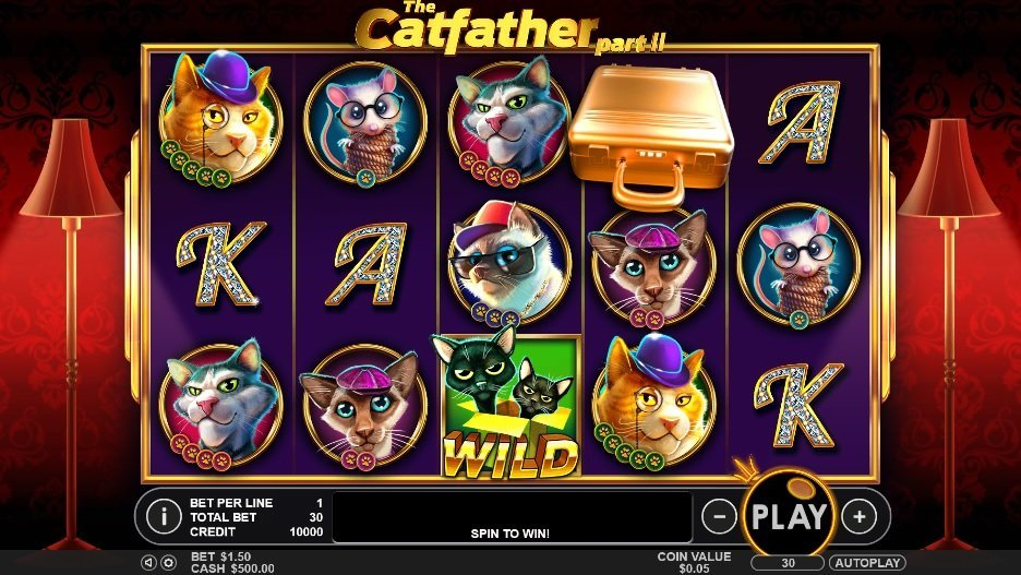The Catfather Part Ii Pokie
