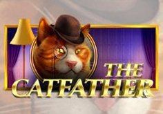 The Catfather Pokie Logo