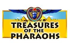 Treasure Of The Pharaohs Pokie Logo