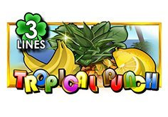 Tropical Punch 3 Lines Pokie Logo
