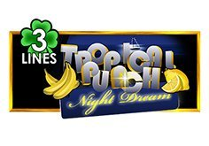 Tropical Punch Night Dream 3 Lines Pokie Logo
