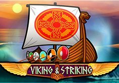 Viking 038 Striking Pokie Logo