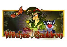 Witches Cauldron Pokie Logo