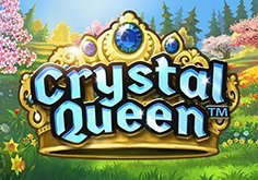 Crystal Queen Pokie Logo