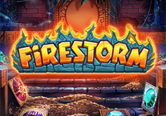 Firestorm Pokie Logo