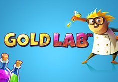 Gold Lab Pokie Logo
