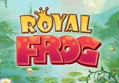 Royal Frog Pokie Logo