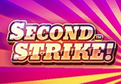 Second Strike Pokie Logo