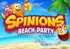 Spinions Beach Party Pokie Logo
