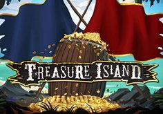 Treasure Island Pokie Logo