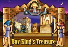 Boy Kings Treasure Pokie Logo