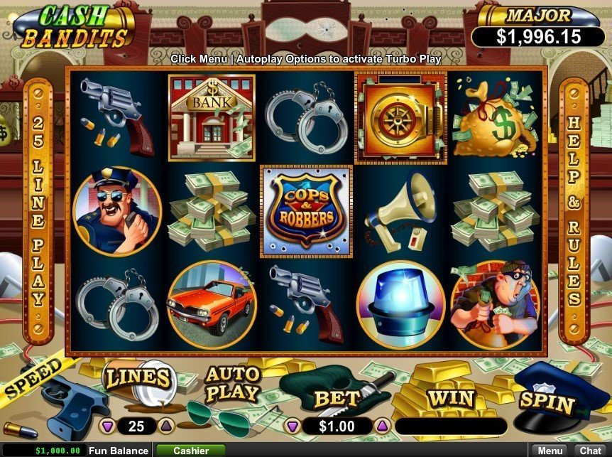Cash Bandits Pokie