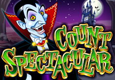 Count Spectacular Pokie Logo