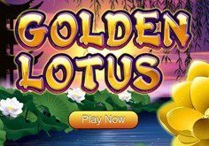 Golden Lotus Pokie Logo