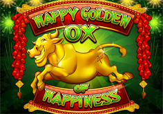 Happy Golden Ox Of Happiness Pokie Logo