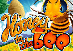 Honey To The Bee Pokie Logo