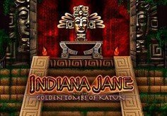 Indiana Jane Pokie Logo