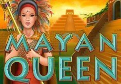 Mayan Queen Pokie Logo