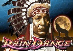 Rain Dance Pokie Logo