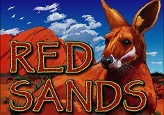 Red Sands Pokie Logo