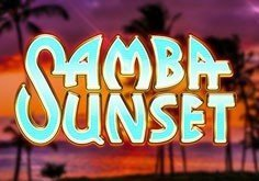 Samba Sunset Pokie Logo