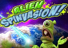 Alien Spinvasion Pokie Logo